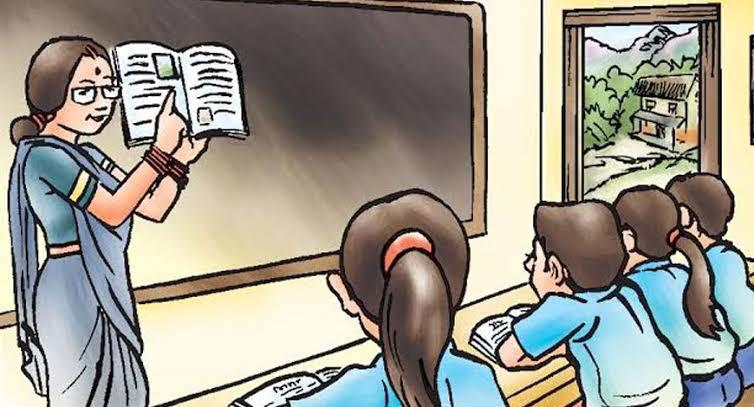 the slogan of the same curriculum is changed to the slogan of a uniform education system.